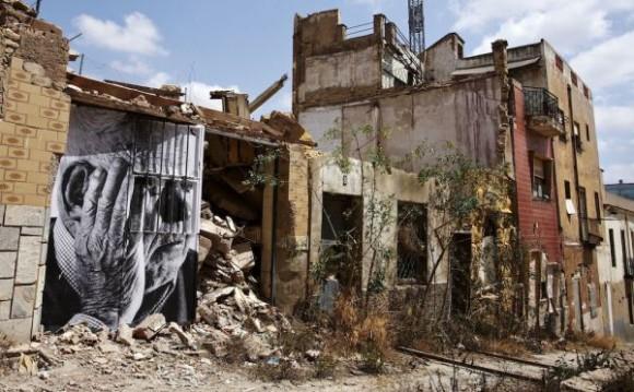 Inside Out Project, JR, fotos em favelas (8)