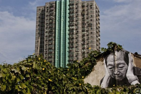Inside Out Project, JR, fotos em favelas (4)