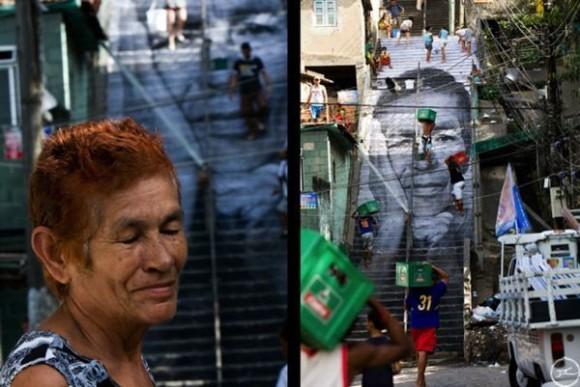 Inside Out Project, JR, fotos em favelas (14)